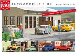 BUSCH Automodelle 1:87 - Kollektion 2021