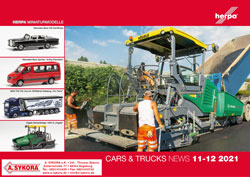 herpa Cars & Trucks - News 11-12-2021